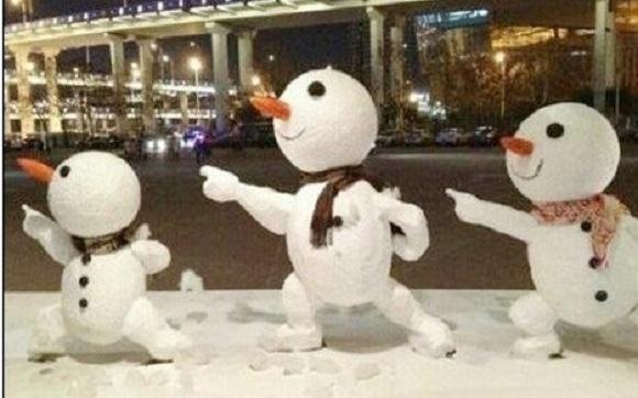 מבחר פסלי שלג החובבנים הטובים ביותר מיפן