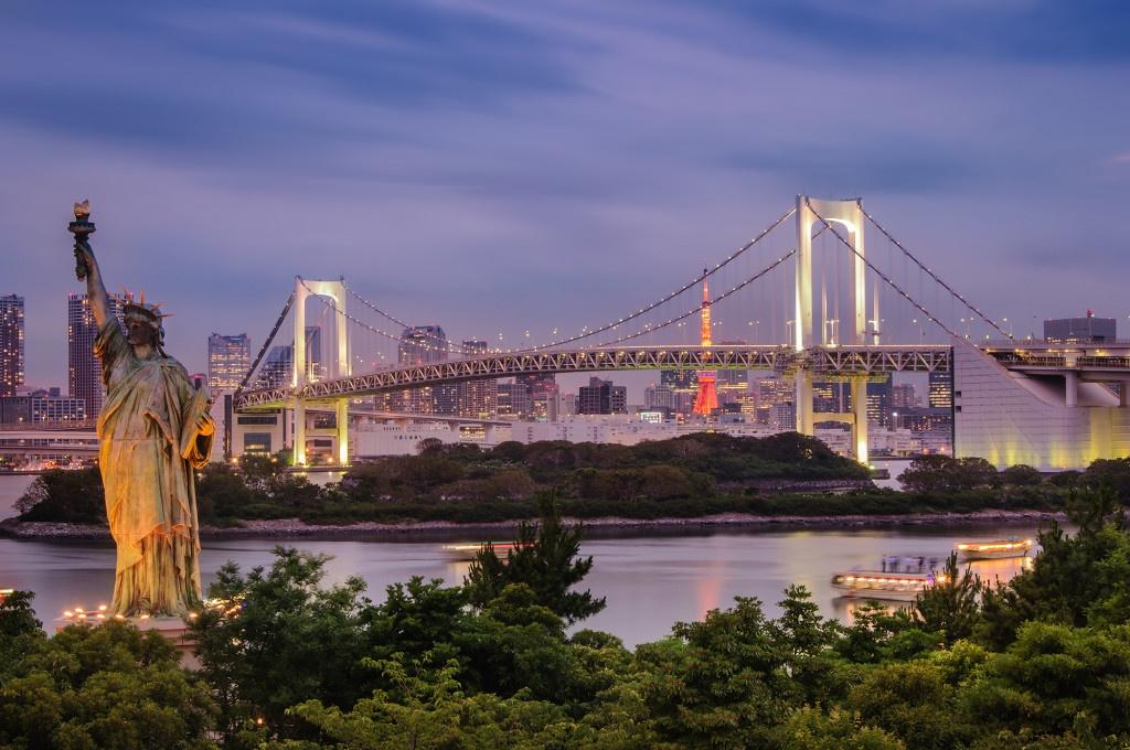5 הנופים הכי יפים בטוקיו