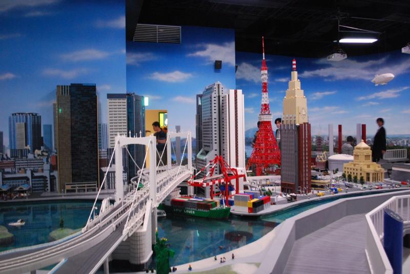 הייתם מספיקים לראות את טוקיו תוך שעה וחצי? ודאי! – בואו לטוקיו לנד דיסקברי לגו
