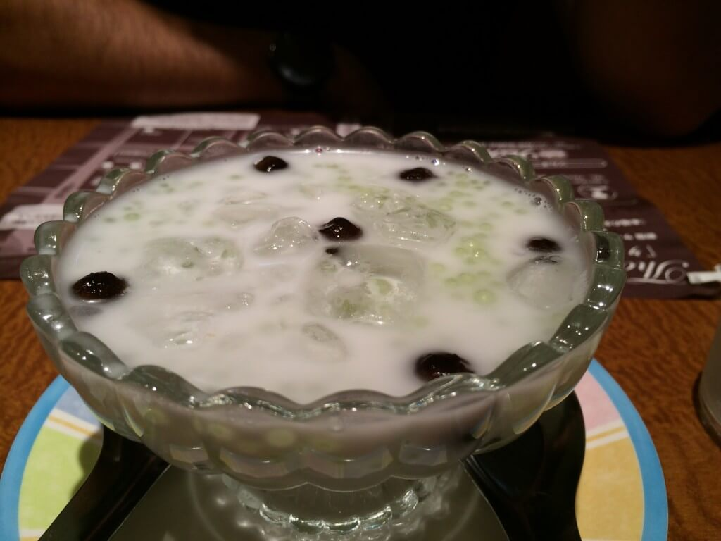 מרק טפיוקה וחלב קוקוס