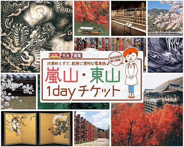 arashiyama-higashiyama-1-day-ticket