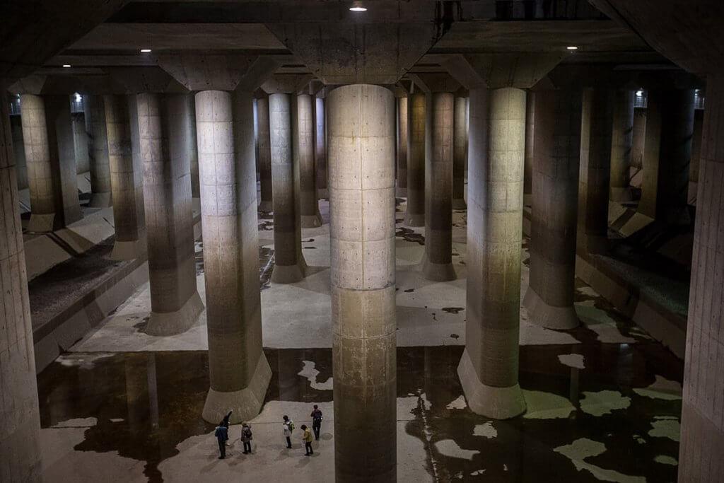 מידע על סיורים במנהרות ג'י-קאן למניעת הצפות (G-Can flood surge tunnels)