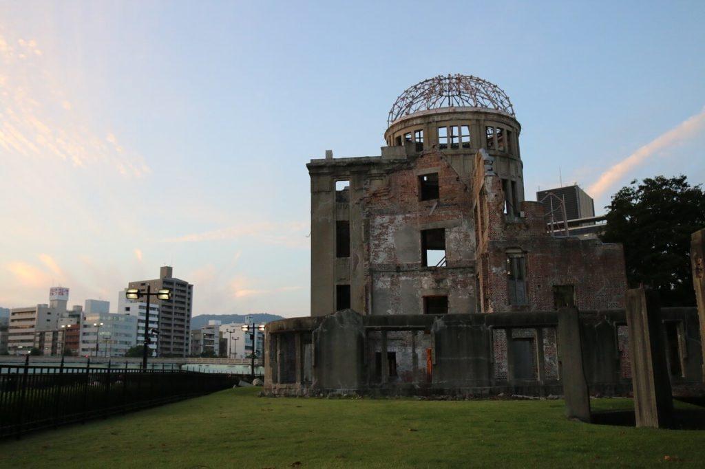 טקס זיכרון בהירושימה