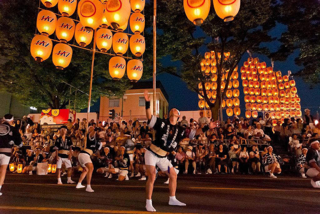 פסטיבל Kanto Matsuri