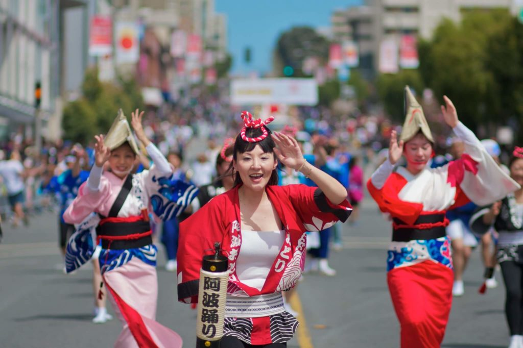 פסטיבל ריקודים באוגוסט ביפן Awa Odori in Tokushima