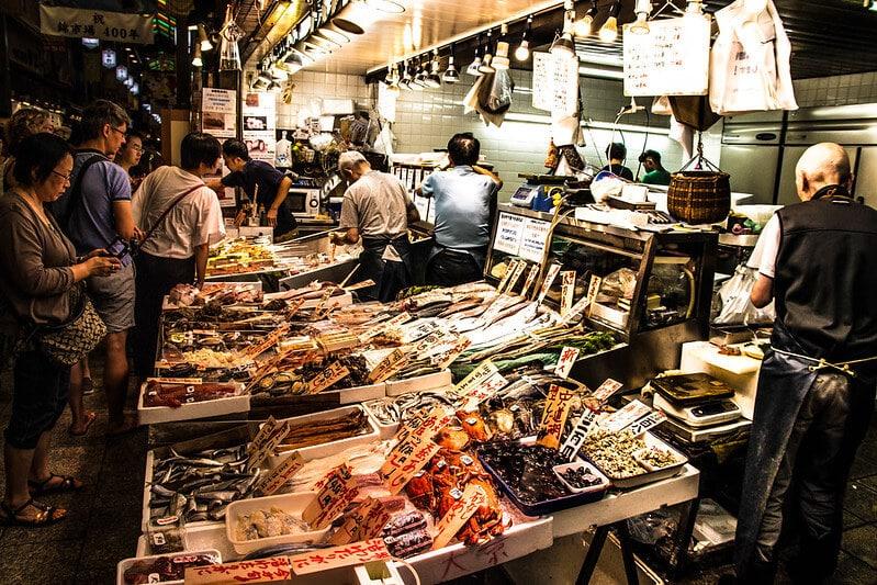 שוק נישיקי – מרכז קיוטו – Nishiki Market