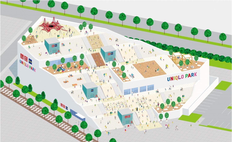 פתיחת פארק יוניקלו (UNIQLO) ביוקוהמה באפריל 2020