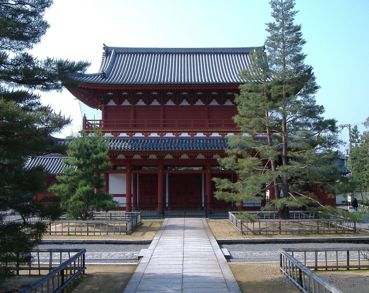 מקדש מיושינג'י – צפון-מערב קיוטו – Myoshin-ji Temple