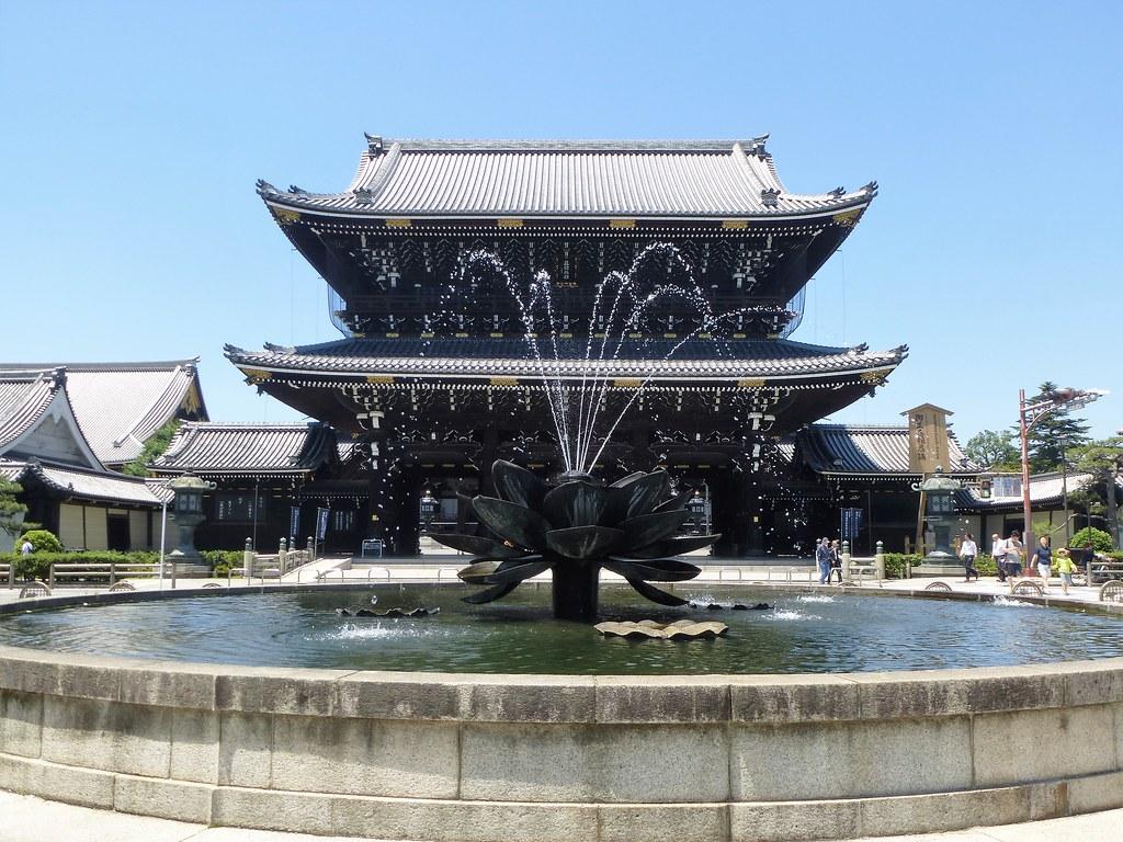 היגאשי הונגאנג'י – אזור תחנת קיוטו – Higashi-Hongan-ji Temple