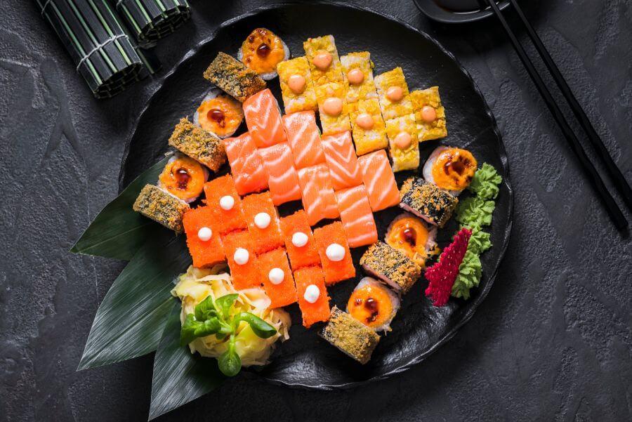 מגוון אוכל בטיול מאורגן ביפן