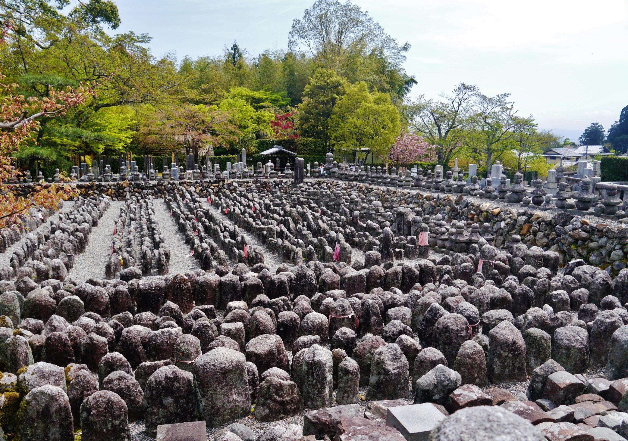מקדש אדאשינונמבוצוג'י – אראשיאמה – Adashino-Nembutsu-ji Temple
