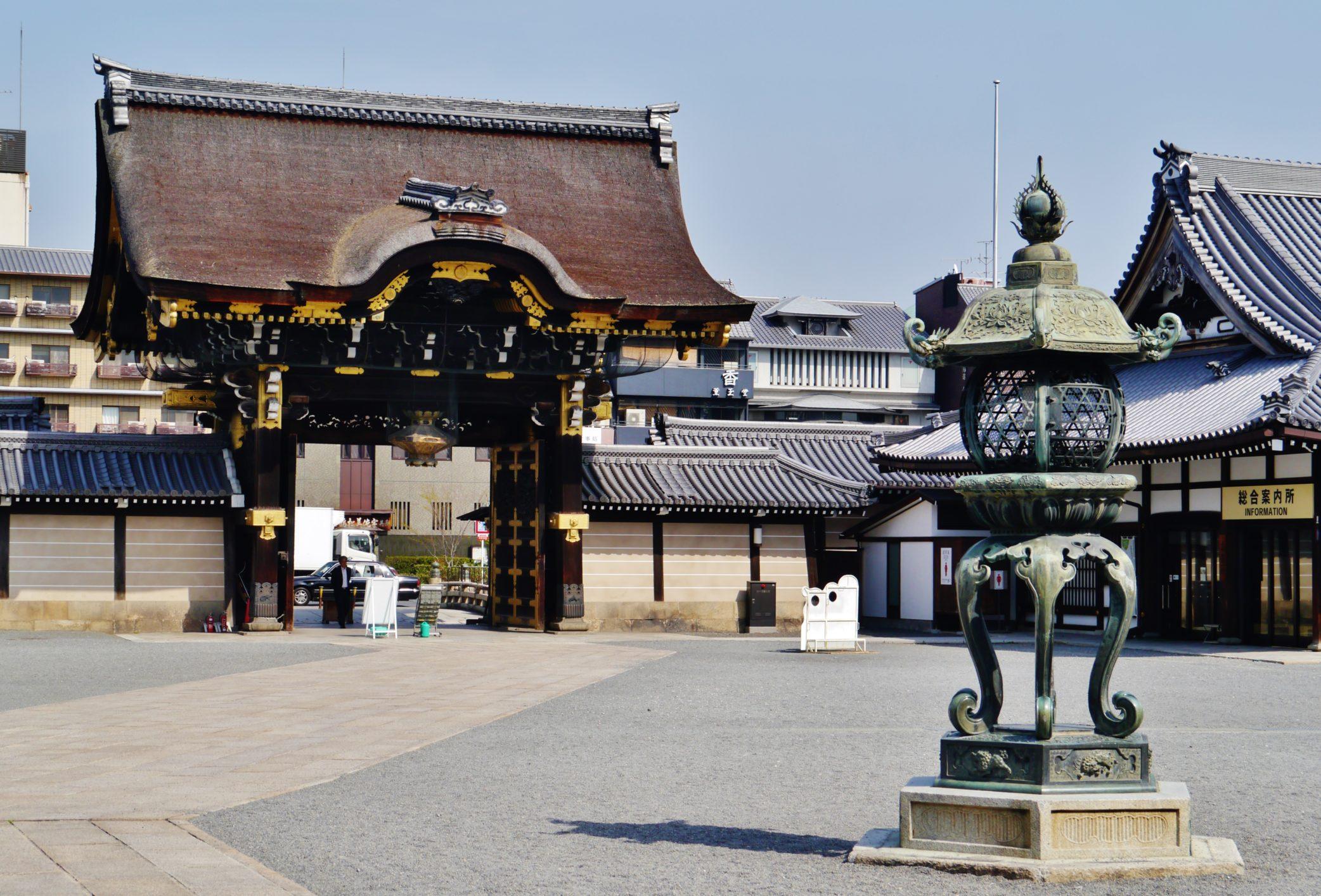 מקדש נישי הונגאנג'י – אזור תחנת קיוטו – Nishi-Hongan-ji Temple