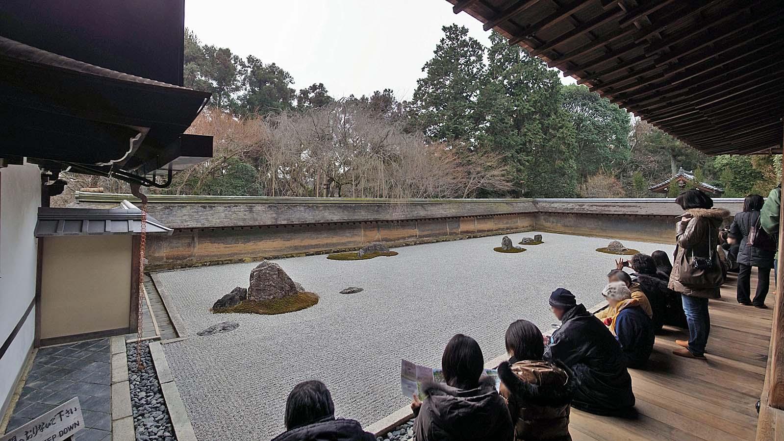 מקדש ריואנג'י – צפון-מערב קיוטו – Ryoan-ji Temple