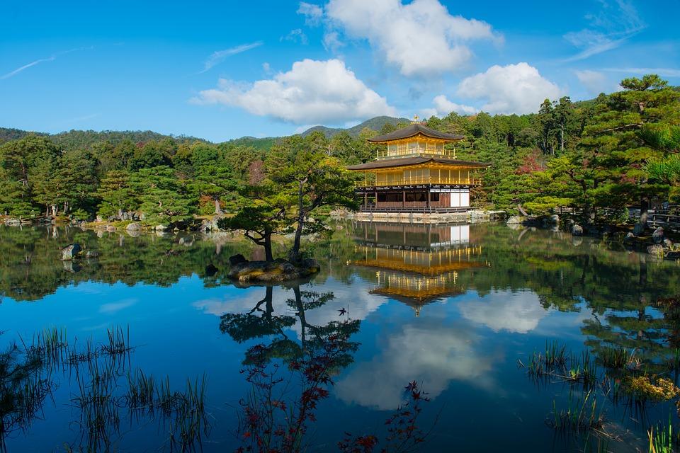 מקדש קינקאנקוג'י (מקדש הזהב) – צפון-מערב קיוטו – Kinkaku-ji Temple (the Golden Pavilion)