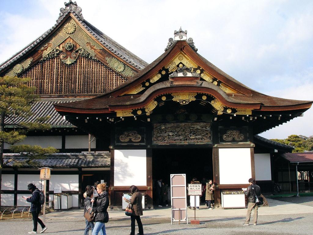 טירת ניג'וג'ו – קיוטו המרכזית – Nijo-jo Castle