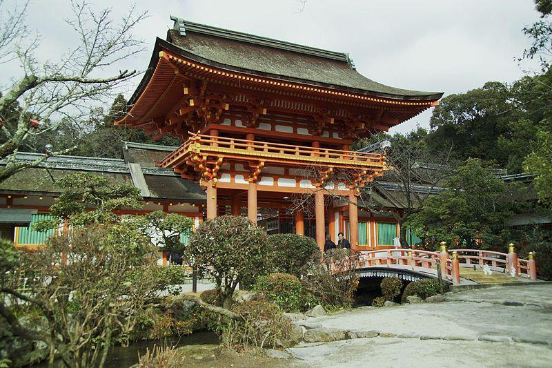 מקדש קאמיגאמוג'ינג'ה – קיוטו המרכזית – Kamigamo-jinja Shrine