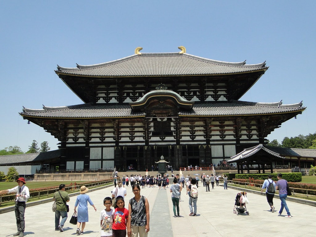 מקדש טודאיג'י – נארה – Todai-ji Temple