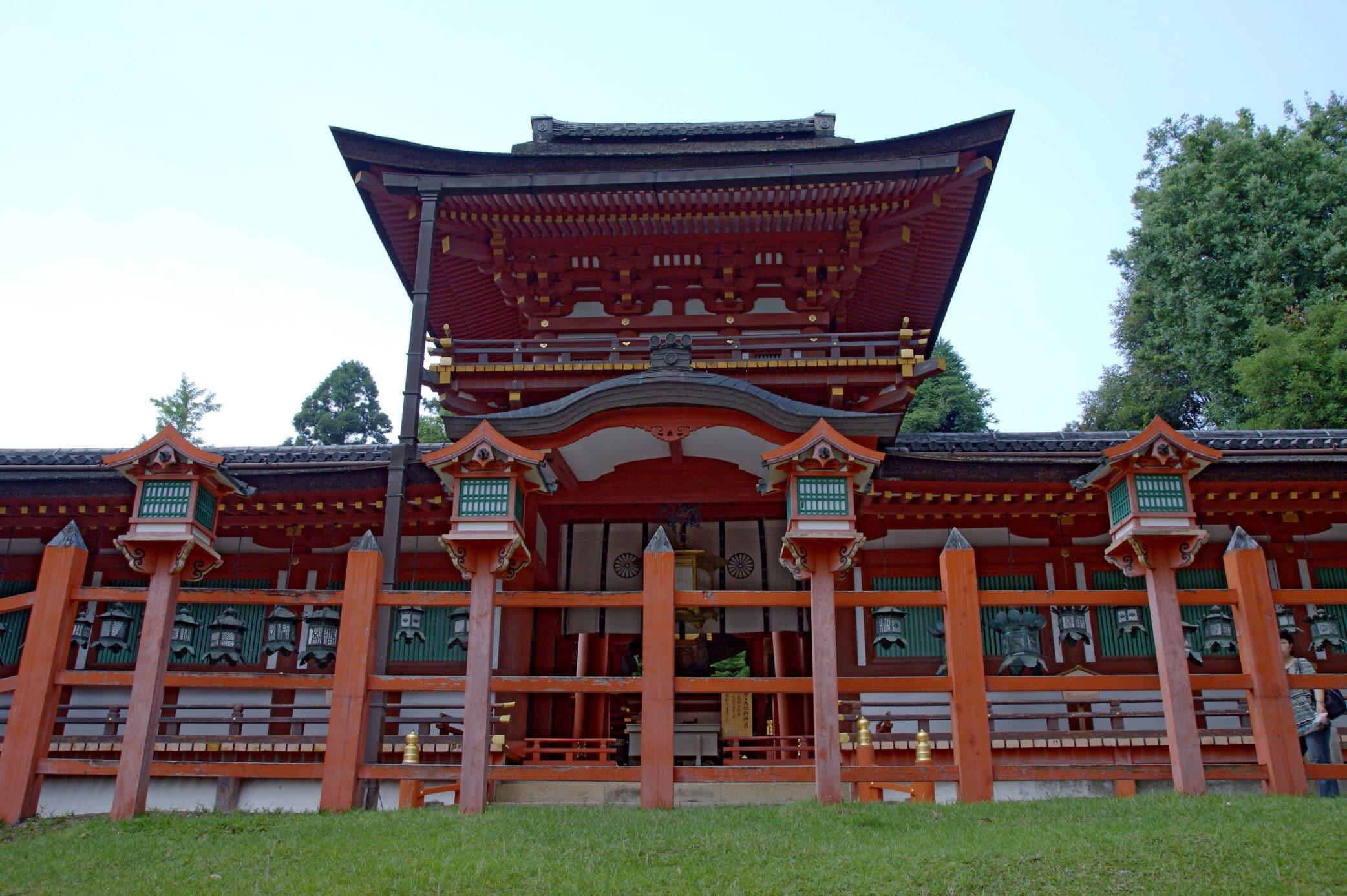 מקדש קאסוגה טאישה – נארה – Kasuga-taisha Shrine