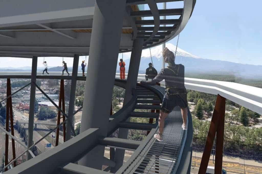 פארק Fuji-Q Highland פותח מצפה חדש